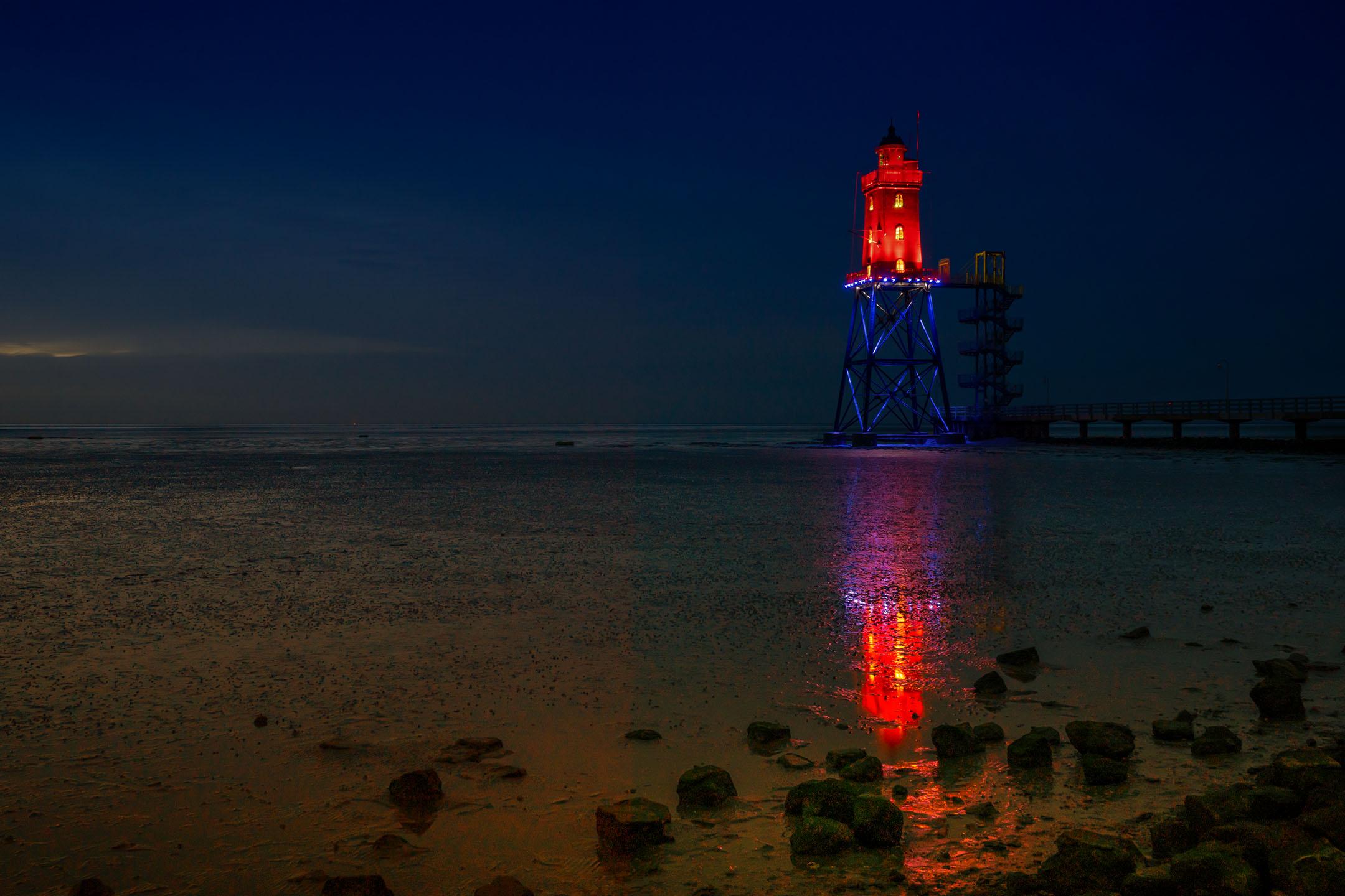 Dorum Leuchtfeuer Rot