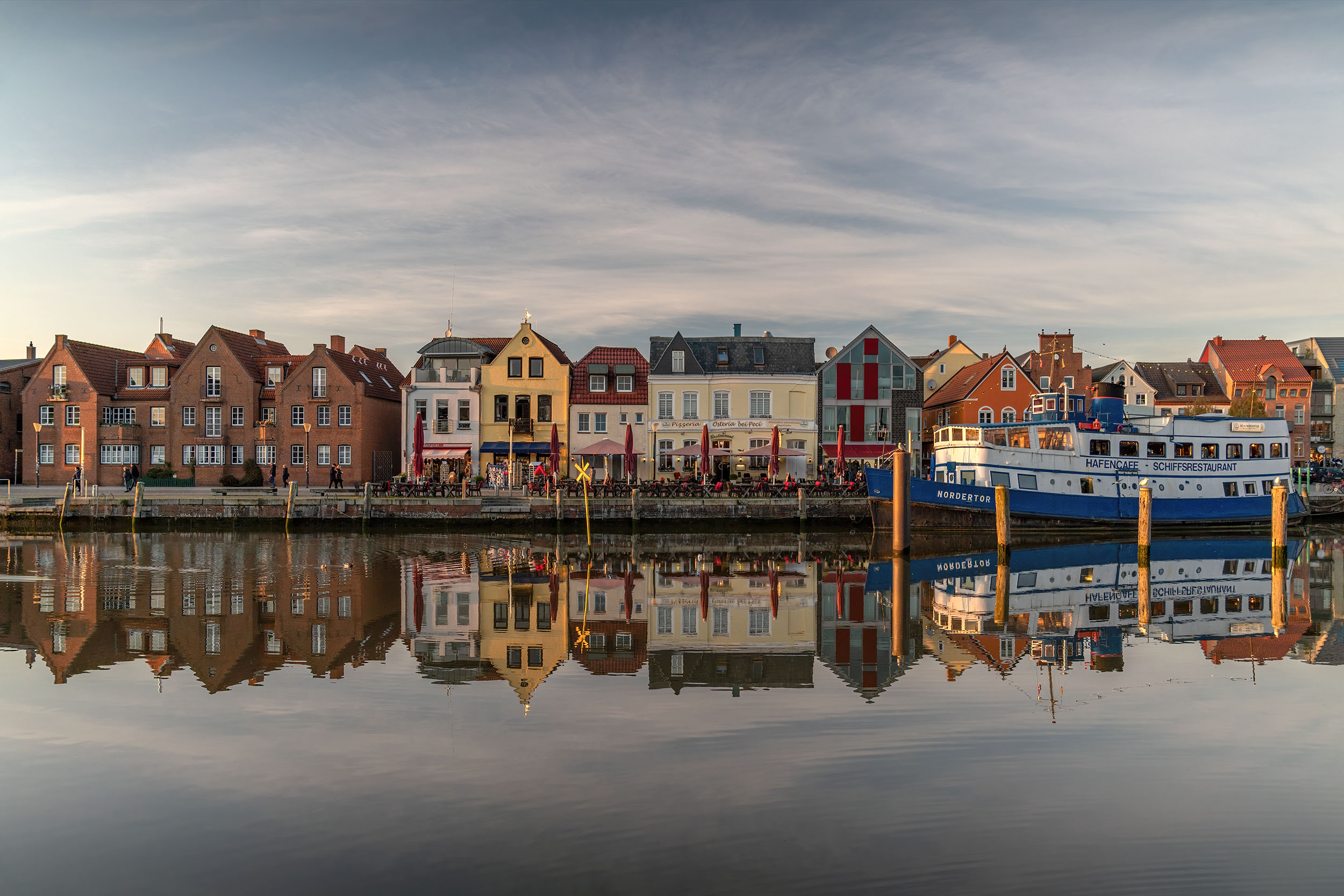 Husum Häuser am Innenhafen